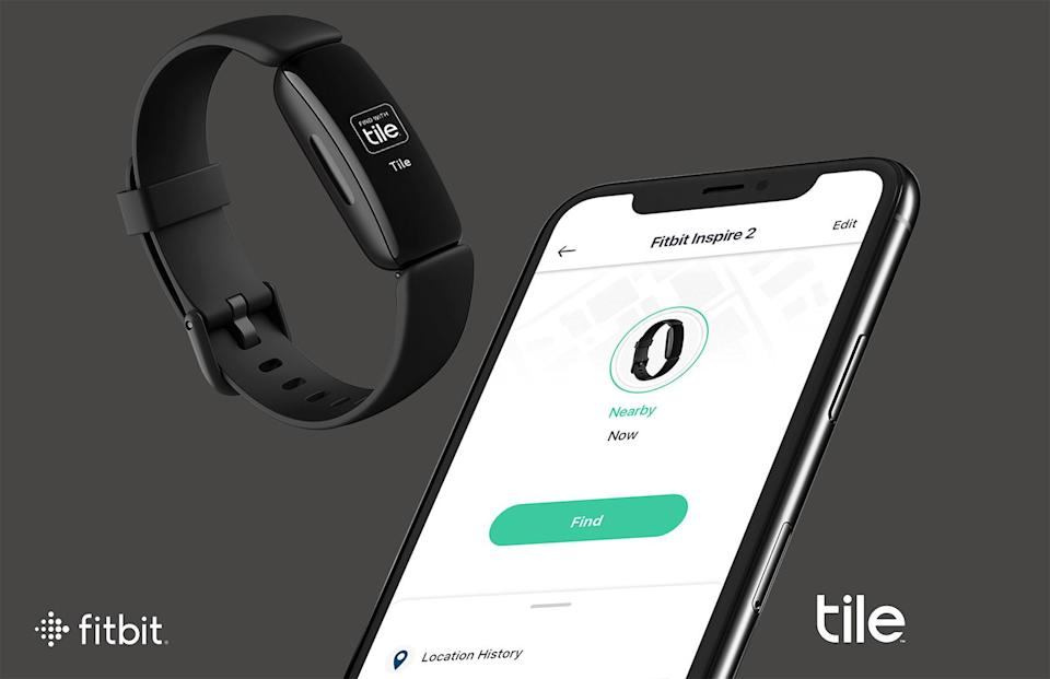 Fitbit Inspire 2 with Tile