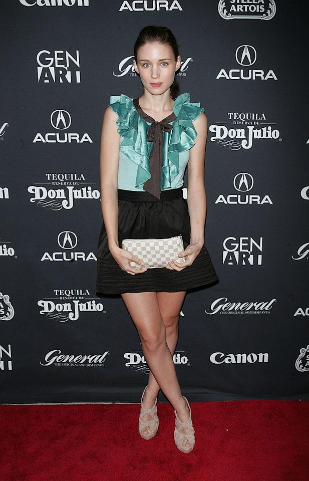 """<a href=""""http://movies.yahoo.com/movie/contributor/1809789186"""">Rooney Mara</a> attends the 15th annual Gen Art Film Festival screening of <a href=""""http://movies.yahoo.com/movie/1810038192/info"""">Tanner Hall</a> - 04/12/2010"""