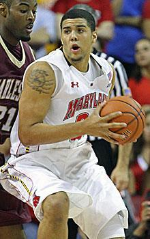 Maryland's Jordan Williams is averaging 21 points and 13.6 rebounds in his first three games this season