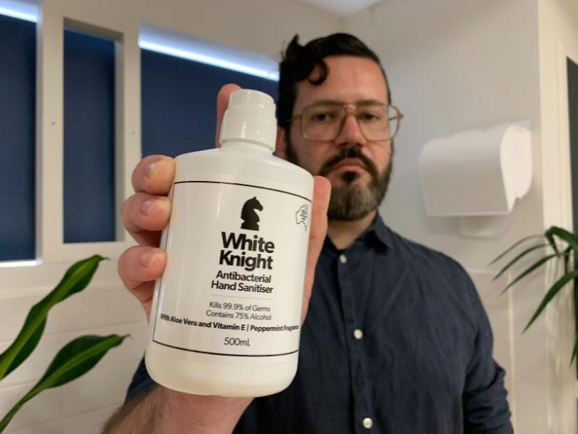 Choice group hand sanitiser White Knight fails alcohol test, ineffective against the virus