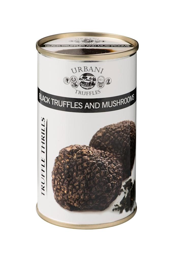 """<p>The heat-and-eat sauce (made with real Italian truffles) is fantastic served over pasta or with crusty bread.</p> <p><strong>Buy it!</strong> $11.50; <a href=""""https://shop.urbani.com/collections/best-sellers"""" rel=""""sponsored noopener"""" target=""""_blank"""" data-ylk=""""slk:urbani.com"""" class=""""link rapid-noclick-resp"""">urbani.com</a></p>"""