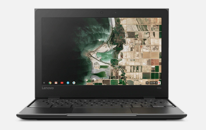 Lenovo 100e Chromebook 2nd Gen. Image via Lenovo.