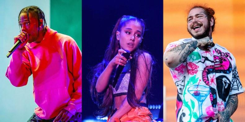 MTV VMAs 2018: Travis Scott, Post Malone, Ariana Grande to Perform