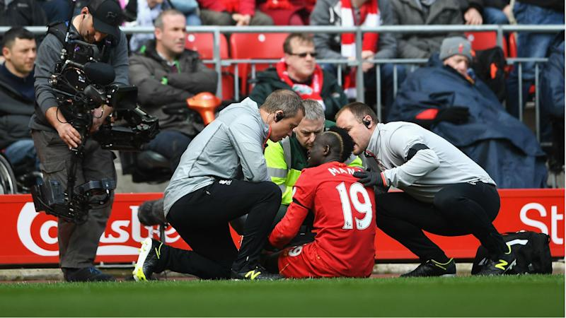 Mane injury spoils derby win for Klopp