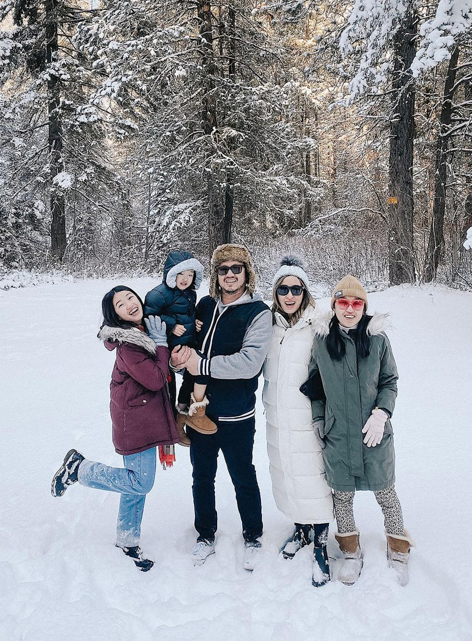 Togetherness is what really matters to mother of four and parenting blogger Angela Kim. (Photo courtesy of Angela Kim/Mommy Diary)