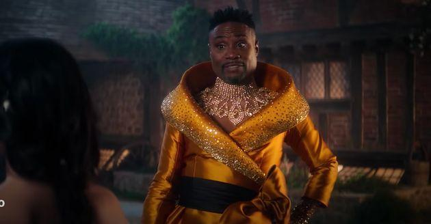 Billy Porter as the Fabulous Godmother in Cinderella (Photo: Amazon Prime Video)