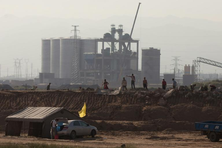 China has a stranglehold on global supply of rare earths -- along with the environmental devastation their extraction creates (AFP/Ed Jones)
