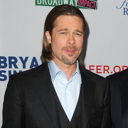 Brad Pitt 'grows beard when stressed'