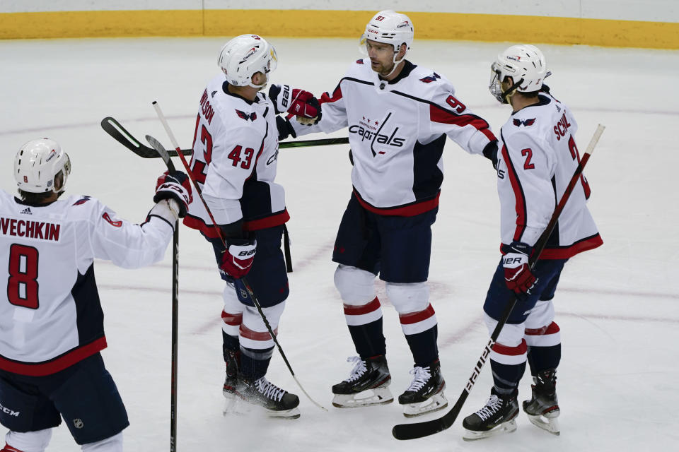 Rust Scores Twice Penguins Pull Away From Capitals 6 3