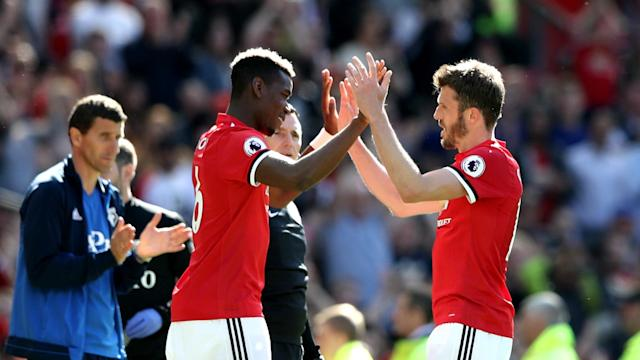 The midfielder, now a coach at the club, says the France star leaving Old Trafford is highly unlikely
