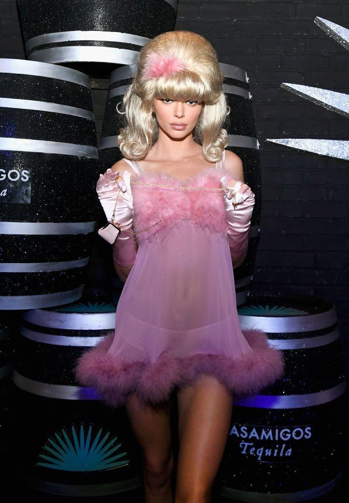 <p>The model went as the Austin Powers character Fembot to the Casamigos Halloween party in Las Vegas in 2018.</p>