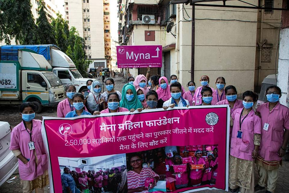 Myna reaches 2,50,000 girls-women