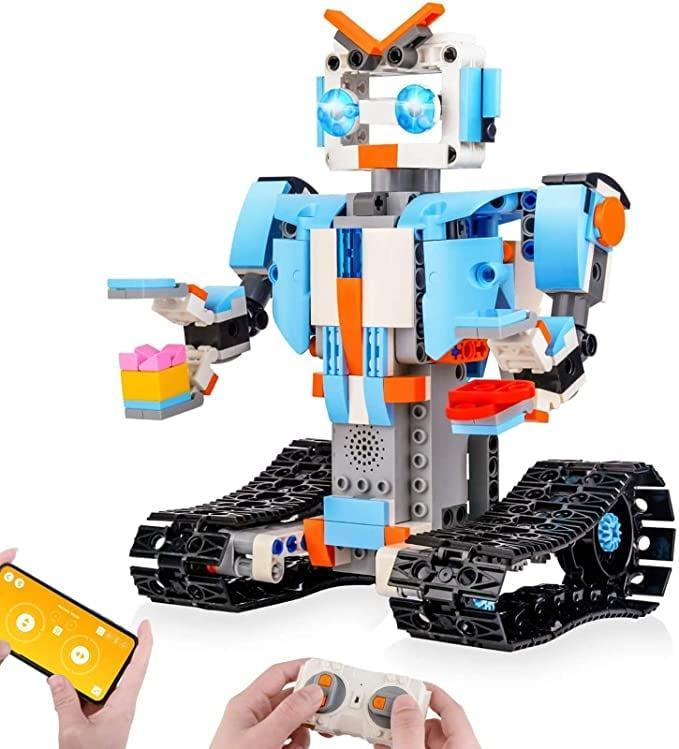 <p>The <span>Sillbird STEM Building Blocks Robot for Kids</span> ($38) is great to introduce kids to engineering and robotics!</p>