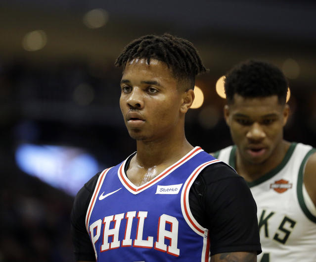 The 76ers might be ready to move on from Markelle Fultz. (AP Photo/Aaron Gash)