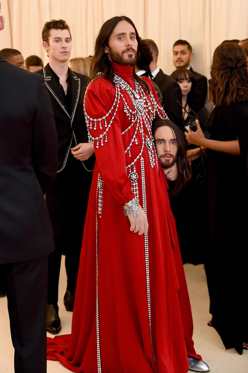 """<h1 class=""""title"""">Jared Leto in Gucci</h1><cite class=""""credit"""">Photo: Getty Images</cite>"""