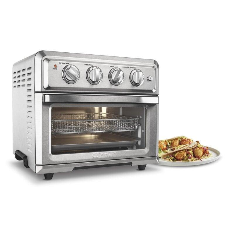 <p>Cooking will feel easier and faster with this smart <span>Cuisinart Air Fryer Convection Toaster Oven</span> ($200, originally $365).</p>