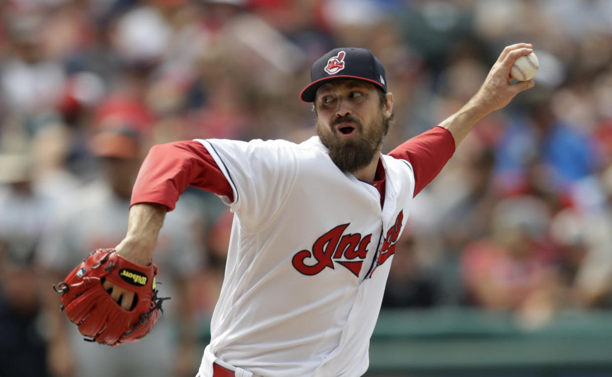 Andrew Miller has hit the disabled list once again. (AP Photo/Tony Dejak)