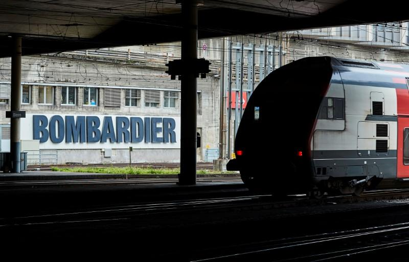 Bombardier reviews minority stake in Airbus JV, flags writedown; shares tumble