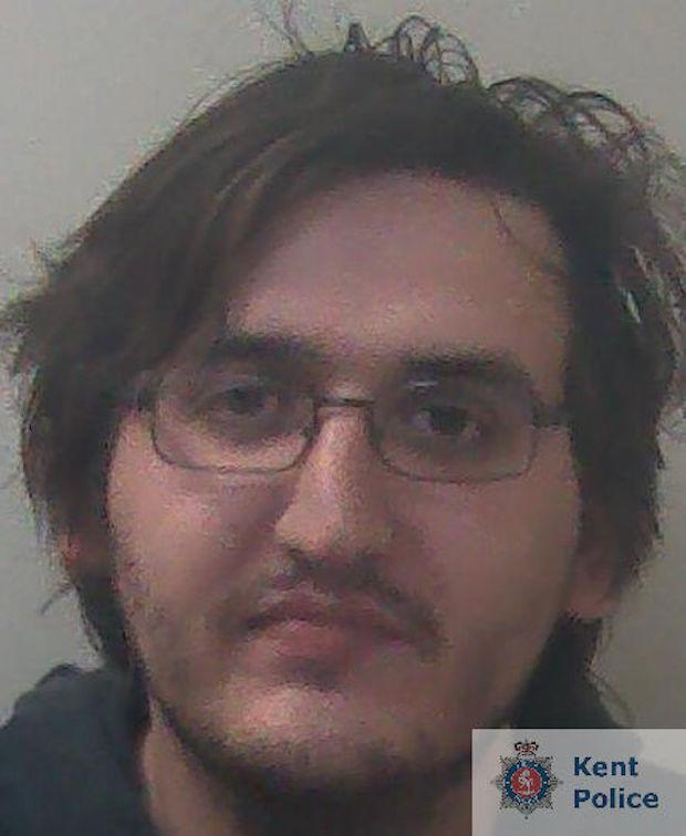 Thomas Lloyd, 27, from Maidstone, has been jailed for 22 months. (Kent Police)