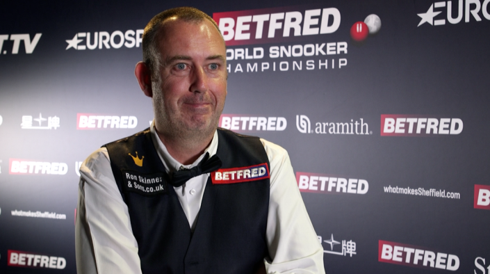 Mark Williams is a three-time world champion, last triumphing in 2018