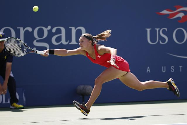 Another major upset at the U.S. Open as No. 3 Petra Kvitova falls to Aleksandra Krunic