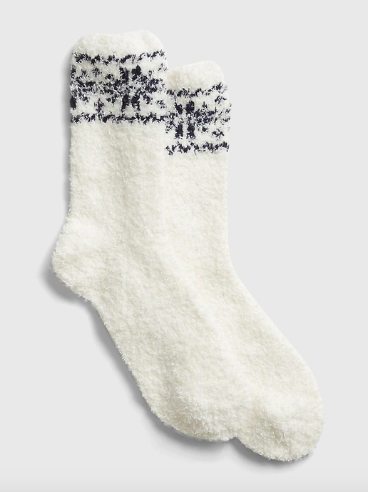 "<strong>— PAID —</strong><br><br><strong>Gap</strong> Cozy Socks, $, available at <a href=""https://go.skimresources.com/?id=30283X879131&url=https%3A%2F%2Fwww.gap.com%2Fbrowse%2Fproduct.do%3Fpid%3D649329082%26cid%3D1119498%26pcid%3D1119498%26vid%3D1%26nav%3Dmeganav%253AGifts%253AAll%2520Gifts%253AWomen%26grid%3Dpds_2_302_1%23pdp-page-content"" rel=""nofollow noopener"" target=""_blank"" data-ylk=""slk:Gap"" class=""link rapid-noclick-resp"">Gap</a>"