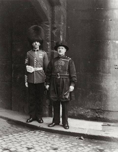 Standing to attention at the Tower of London - Credit: PRINT COLLECTOR