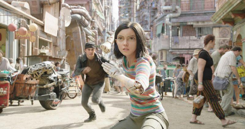 Rosa Salazar in Alita: Battle Angel. (PHOTO: Twentieth Century Fox)