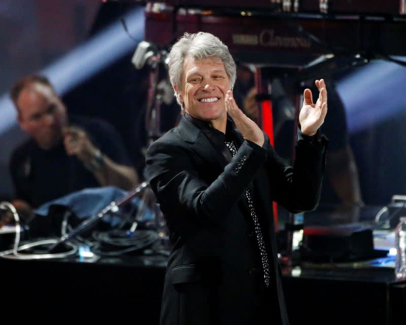 Bon Jovi album '2020' asks 'questions' about pandemic, race, police