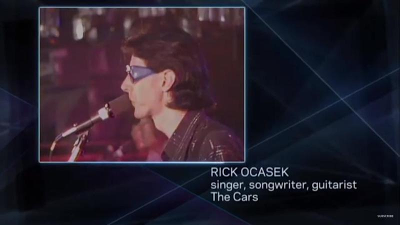 Ric Ocasek's name is misspelled on the Grammys' In Memorian segment. (Photo: CBS)