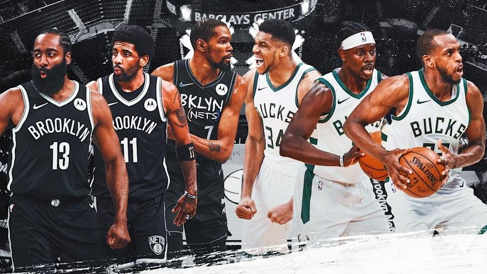 Nets - Bucks 2021 NBA playoffs preview treated image