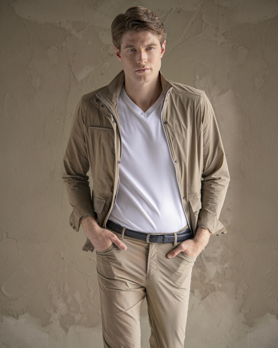 The offering includes jackets and pants designed for comfort and performance.