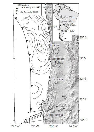 How Earthquakes in Chile Have Permanently Deformed Earth