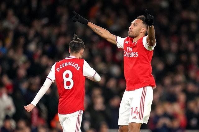 Aubameyang's last Premier League goal came in February
