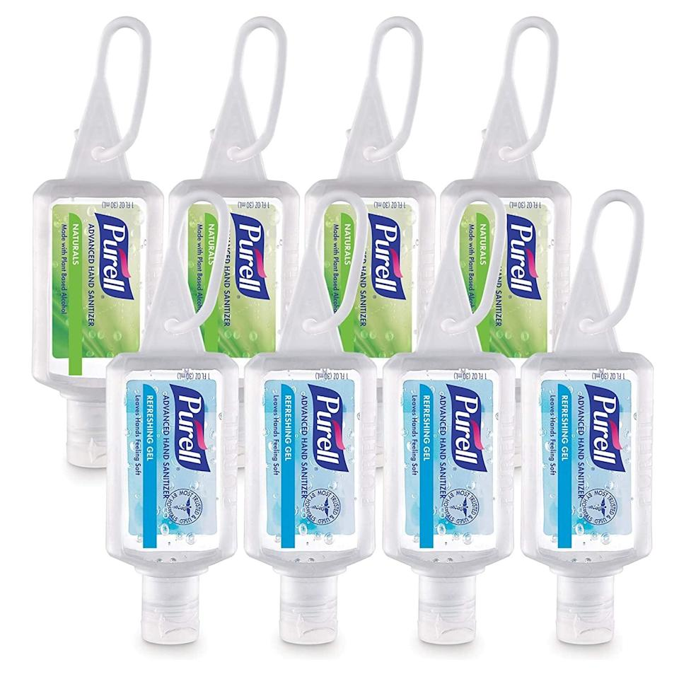 <p>Do we even need to stress the importance of this <span>Purell Advanced Hand Sanitizer Variety Pack</span> ($18 for eight)?</p>