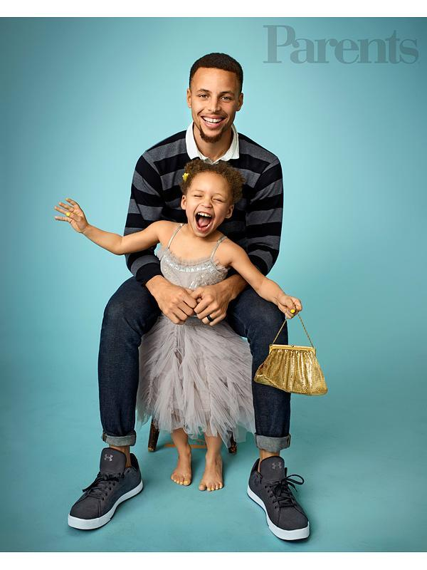 Stephen Curry Riley Parents Magazine