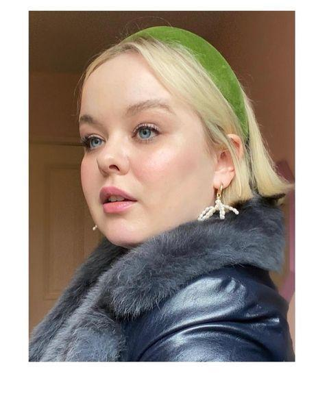 """<p>Coughlan wore a faux-fur trimmed coat by Charlotte Simone with Margaux Studios earrings and a headband by Henriette Von Gruenberg.</p><p><a class=""""link rapid-noclick-resp"""" href=""""https://charlottesimone.com/"""" rel=""""nofollow noopener"""" target=""""_blank"""" data-ylk=""""slk:SHOP CHARLOTTE SIMONE NOW"""">SHOP CHARLOTTE SIMONE NOW</a></p><p><a href=""""https://www.instagram.com/p/CI-nlb0go0y/"""" rel=""""nofollow noopener"""" target=""""_blank"""" data-ylk=""""slk:See the original post on Instagram"""" class=""""link rapid-noclick-resp"""">See the original post on Instagram</a></p>"""