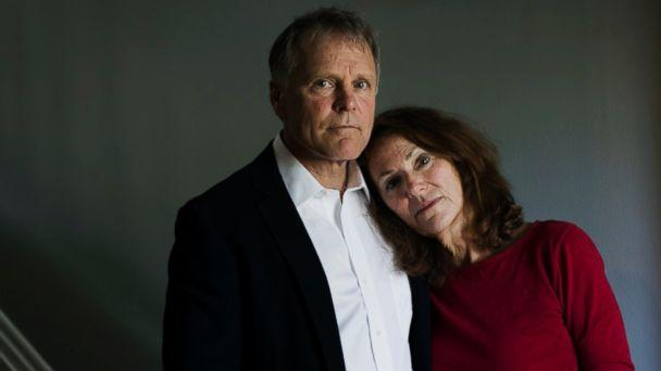 PHOTO: Fred and Cindy Warmbier, the parents of Otto Warmbier, stand in their home in Wyoming, Ohio, April 26, 2017. (Maddie McGarvey for the Washington Post/Getty Images)