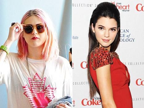 """Frances Bean Cobain Calls Kendall Jenner a """"Self-Absorbed Idiot"""""""