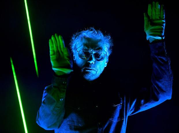Electronic music pioneer Jean-Michel Jarre perfor
