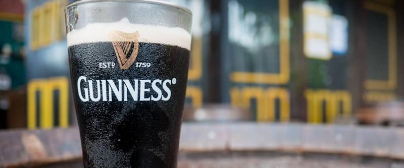 Thailand, Pattaya : Pint of beer served at Guinness Brewery on September 18, 2016 in Pattaya.