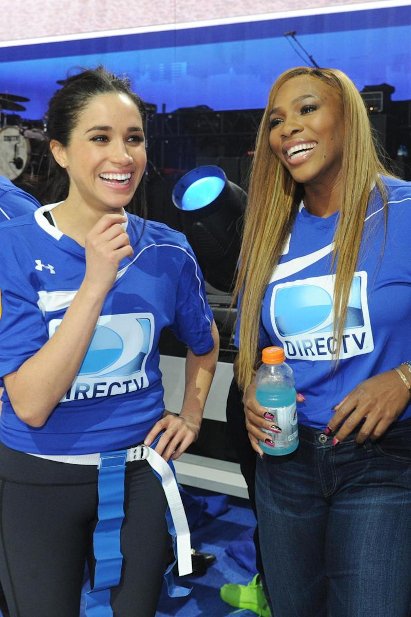 Serena Williams and Meghan Markle (Getty Images for DirecTV)