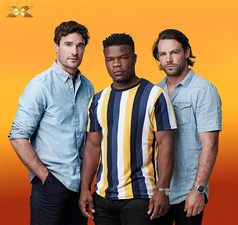 Thom Evans, Ben Foden and Levi Davis are all professional rugby players. Thom is a former Scottish international rugby union player and model, although his rugby career was cut short due to a serious neck injury. <br /><br />Levi Davis has represented England internationally at under 18 and under 19s level, and now plays for Bath United. <br /><br />Ben Foden currently plays for Rugby United New York but has also played for England internationally. Together they can&rsquo;t wait to take singing more seriously and would love to make it through to the live shows.