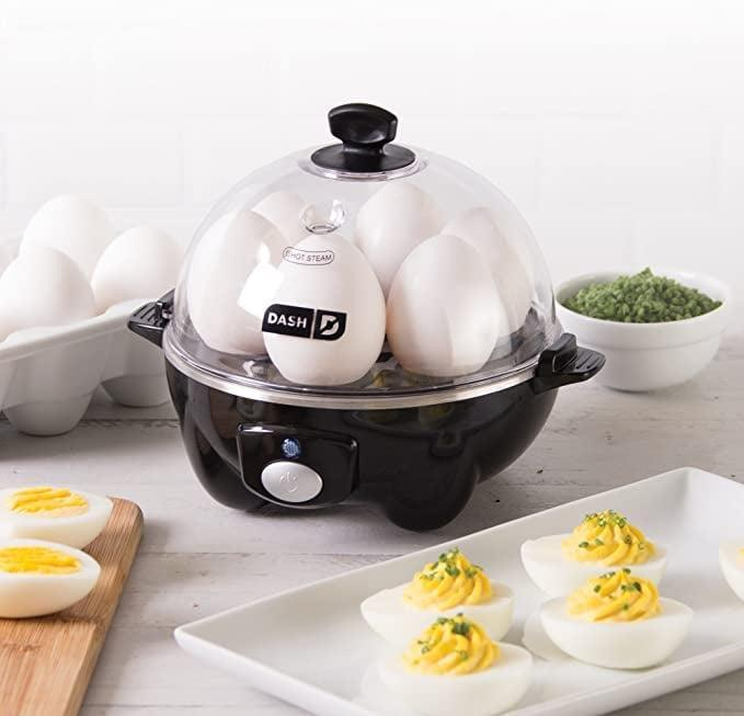 <p><span>Dash Rapid Electric Egg Cooker</span> ($16, originally $20)</p>
