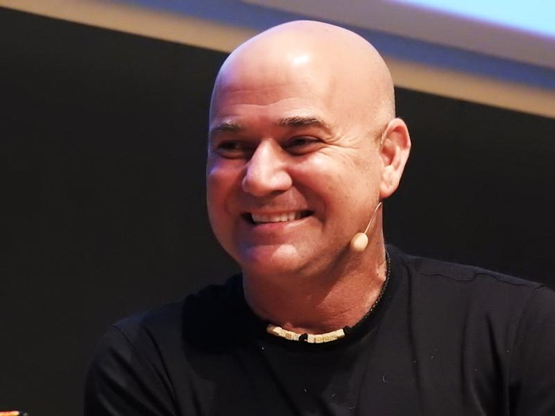 BARCELONA, SPAIN - MAY 08: Andrea Agassi attends 'The Love Behind Food Danone' photocall on May 08, 2019 in Barcelona, Spain. (Photo by Europa Press Entertainment/Europa Press via Getty Images)