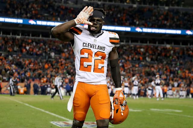 Jabrill Peppers showed strong improvement from his rookie season to Year 2 in the NFL. The Giants are hoping he continues the trend in his third season in the league. (Getty Images)