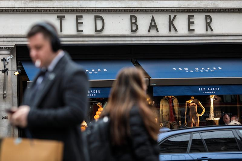 ea3ef06330be41 What to watch  Ted Baker s profits slide