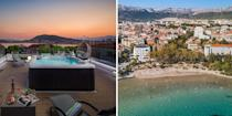 """<p>These apartments provide panoramic views over the coast of Split. Within minutes of the UNESCO-protected Diocletian's Palace and Cathedral of Saint Domnius, these modern <a href=""""https://go.redirectingat.com?id=127X1599956&url=https%3A%2F%2Fwww.booking.com%2Fhotel%2Fhr%2Fvilla-muller-split.en-gb.html%3Faid%3D2070929%26label%3Dtrending-summer-destinations&sref=https%3A%2F%2Fwww.redonline.co.uk%2Ftravel%2Finspiration%2Fg35851087%2Fsummer-holiday-destinations%2F"""" rel=""""nofollow noopener"""" target=""""_blank"""" data-ylk=""""slk:Villa Muller Apartments"""" class=""""link rapid-noclick-resp"""">Villa Muller Apartments</a> are fully equipped, and provide access to a hot spring bath.</p><p><a class=""""link rapid-noclick-resp"""" href=""""https://go.redirectingat.com?id=127X1599956&url=https%3A%2F%2Fwww.booking.com%2Fhotel%2Fhr%2Fvilla-muller-split.en-gb.html%3Faid%3D2070929%26label%3Dtrending-summer-destinations&sref=https%3A%2F%2Fwww.redonline.co.uk%2Ftravel%2Finspiration%2Fg35851087%2Fsummer-holiday-destinations%2F"""" rel=""""nofollow noopener"""" target=""""_blank"""" data-ylk=""""slk:CHECK AVAILABILITY"""">CHECK AVAILABILITY</a></p>"""