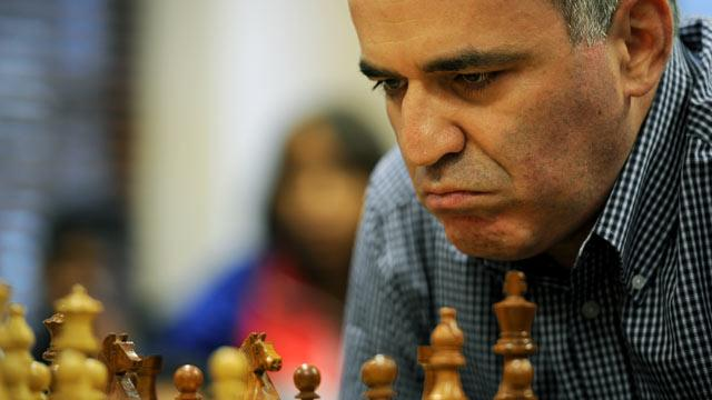 Chess Grand Master Garry Kasparov Is Latest Russian to Flee