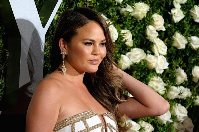 Chrissy Teigen suffers from period skin too. (Photo: Getty Images)
